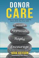 Donor Care Book PDF
