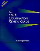 COTA Examination Review Guide