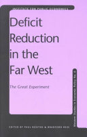 Deficit Reduction in the Far West
