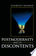 Postmodernity and its Discontents Book