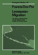 Pdf Lessepsian Migration Telecharger