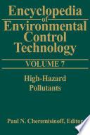 Encyclopedia of Environmental Control Technology: Volume 7