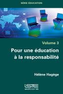 Pdf Pour une éducation à la responsabilité Telecharger