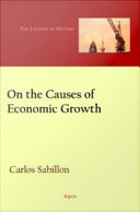 On the Causes of Economic Growth