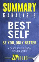 Summary   Analysis of Best Self