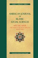 American Journal of Islamic Social Sciences 31:3