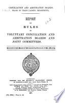 Conciliation and Arbitration Boards