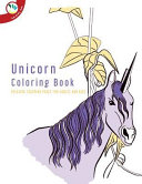 Unicorn Coloring Book. Relaxing Coloring Pages for Adults and Kids