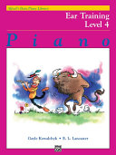 Alfred's Basic Piano Library - Ear Training Book 4