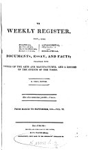The Weekly Register From March To September 1814 Vol Vi