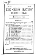 Pdf The Chess Player's Chronicle