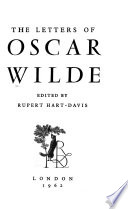 The Letters of Oscar Wilde
