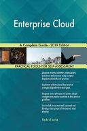Enterprise Cloud A Complete Guide   2019 Edition