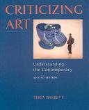 Criticizing Art  Understanding the Contemporary