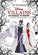 Art of Coloring  Disney Villains