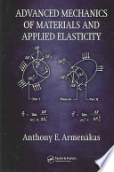 Advanced Mechanics Of Materials And Applied Elasticity Book PDF