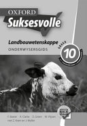 Books - Oxford Suksesvolle Landbouwetenskappe Graad 10 Onderwysersgids | ISBN 9780199053407