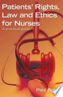 Patients Rights Law And Ethics For Nurses A Practical Guide