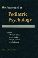 The Sourcebook of Pediatric Psychology