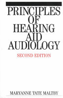 Principles of Hearing Aid Audiology Book