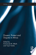 Dissent Protest And Dispute In Africa