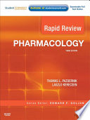 """Rapid Review Pharmacology E-Book"" by Thomas L. Pazdernik, Laszlo Kerecsen"