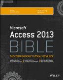 Access 2013 Bible
