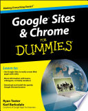 """""""Google Sites and Chrome For Dummies"""" by Ryan Teeter, Karl Barksdale"""