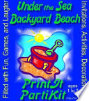 Children S Under The Sea Birthday Party Kit And Party Games