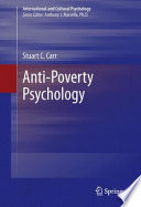 Anti-Poverty Psychology