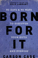 Born For It Book