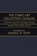 The Comic Art Collection Catalog