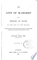 THE LIFE OF MAHOMET AND HISTORY OF ISLAM Book