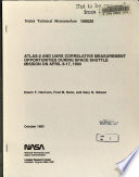 ATLAS-2 and UARS Correlative Measurement Opportunities During Space Shuttle Mission on April 8-17, 1993