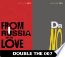 Double the 007  From Russia with Love and Dr No  James Bond 5 6