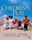 Children's Play Pdf/ePub eBook