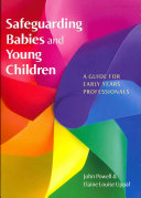 Safeguarding Babies And Young Children  A Guide For Early Years Professionals