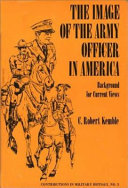 The Image of the Army Officer in America
