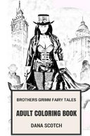 Brothers Grimm Fairy Tales Adult Coloring Book