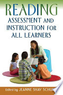 Reading Assessment and Instruction for All Learners Book
