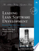 Leading Lean Software Development  : Results Are not the Point