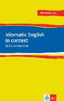Idiomatic English in context