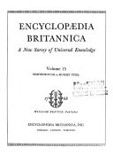 Encyclopaedia Britannica  a New Survey of Universal Knowledge