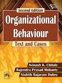 ORGANIZATIONAL BEHAVIOUR, SECOND EDITION Pdf/ePub eBook