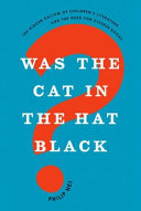Was the Cat in the Hat Black