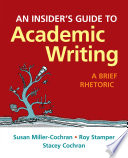 An Insider's Guide to Academic Writing
