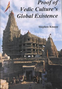 Proof of Vedic Culture s Global Existence