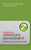 Essential Tools for Operations Management