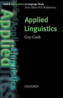 Applied Linguistics