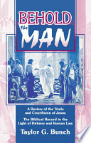 Download Behold the Man! Pdf